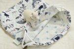 ブルー:内布小花ブルー