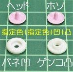 4個セット:指定色+指定色+凹+凸
